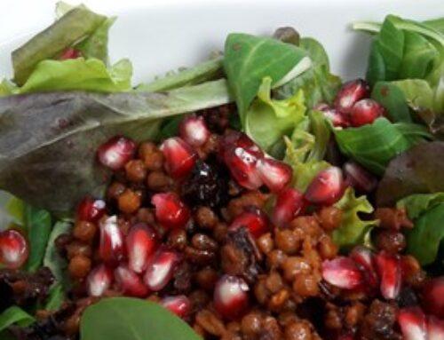 N4U Food Ideenfeld: Pflücksalate mit N4U Food Couscous in zwei wunderbaren Kreationen