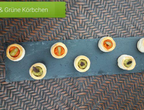 N4U food Körbchen aus Blätterteig