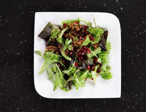 Zupfsalat mit N4U food Couscous mit getrockneten Tomaten- Video zum Nachmachen!