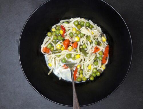 Schnellste Gemüsesuppe