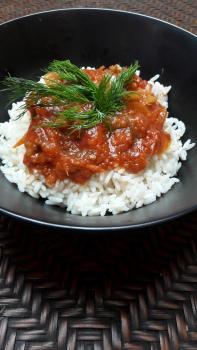 Gjuvec mit Reis