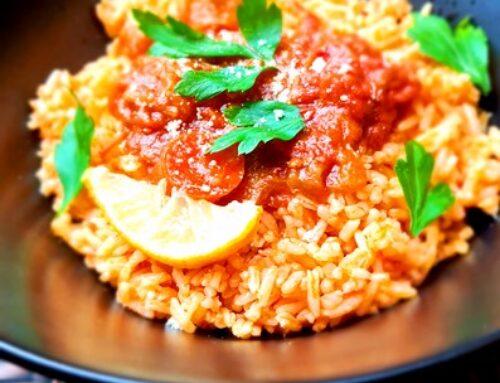 N4U food Gjuvec mit Reis