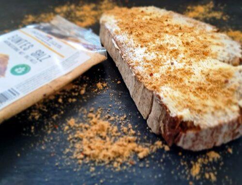 Brot mit Buntes Salz